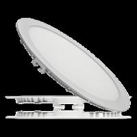 Потолочный встраиваемый светодиодный светильник (круг) 24 Вт.