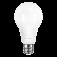 светодиодная LED лампа GLOBAL A60 12W мягкий свет 220V E27 AL (1-GBL-165)(от MAXUS NEW)