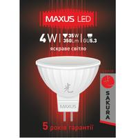 LED ЛАМПА 4W ЯРКИЙ СВЕТ MR16 GU5.3 220V (1-LED-404-01)