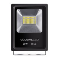 Прожектор GLOBAL FLOOD LIGHT 20W 5000K холодный свет (1-LFL-002)