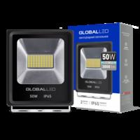 Прожектор GLOBAL FLOOD LIGHT 50W 5000K холодный свет(1-LFL-004)
