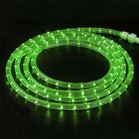Дюралайт-лента 60SMD силикон зелёная 3528 220V