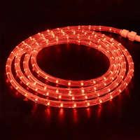Дюралайт-лента 60LED IP68 красная 2835SMD 230V 5W/м 360LM