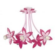 Детская Люстра FLOWERS  PINK III zwis