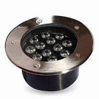 Светильник LED тротуарный 12LED RGB 12W 600LM
