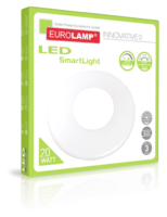 Умный диммируемый светодиодный LED светильник  SMART LIGHT 20W от EUROLAMP LED-SL-20W