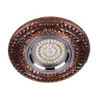 Встраиваемый светильник Feron CD877 с LED подсветкой чайный