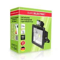 Премиум LED прожектор 30 Вт. с датчиком движения EUROELECTRIC COB от ЕВРОЛАМП LED-FL-30(sensor)