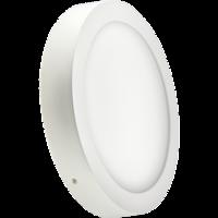 Накладной потолочный светодиодный светильник (круглый)  12 Вт. Для потолка либо стены