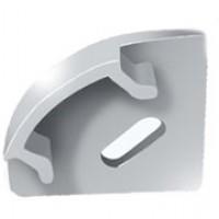 Заглушки для алюминиевого профиля ЗПУО с отверстием для светодиодной ленты