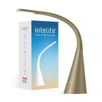 Функциональная настольная светодиодная лампа MAXUS Intelite DESK LAMP 5W WHITE, black, Bronthe, IRON GREY (DL4-5W-WT)(DL4-5W-BR)DL4-5W-IGR