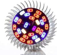 Светодиодная фитолампа для рассады 25w на 28 светодиодов