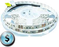 Светодиодная LED лента IP33 smd 5050 RGB (60 диод/м) Эконом класс