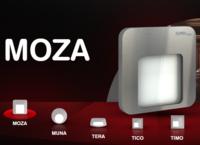Светодиодный светильник врезной 230V для лестниц и подиумов MOZA от ZAMEL